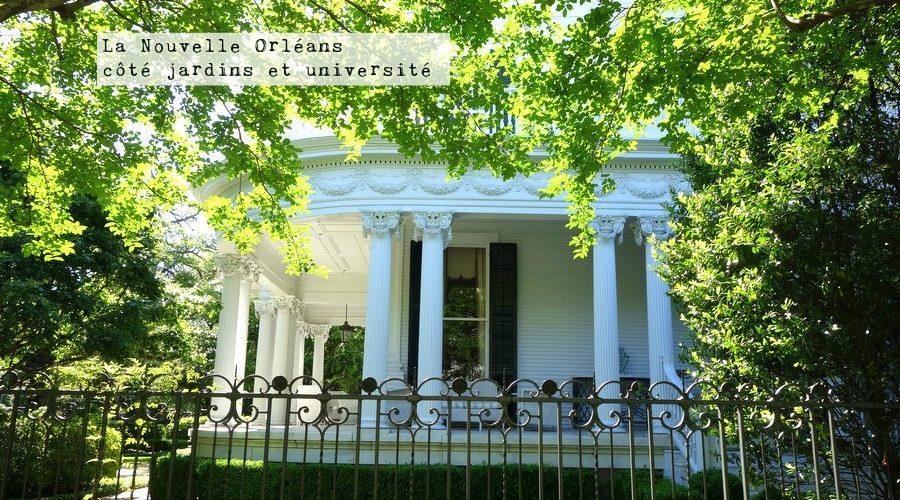 Grande demeure dans les jolis quartiers américains de la Nouvelle-Orléans