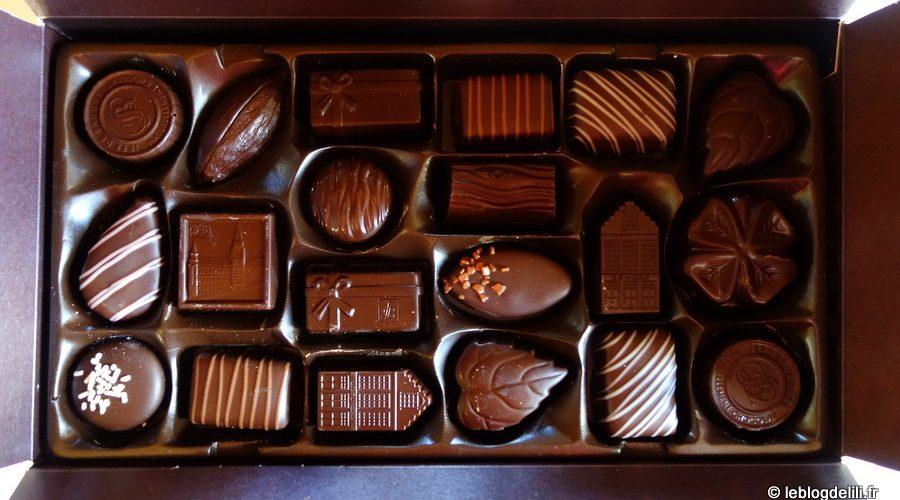 Chocolats noirs Jeff de Bruges