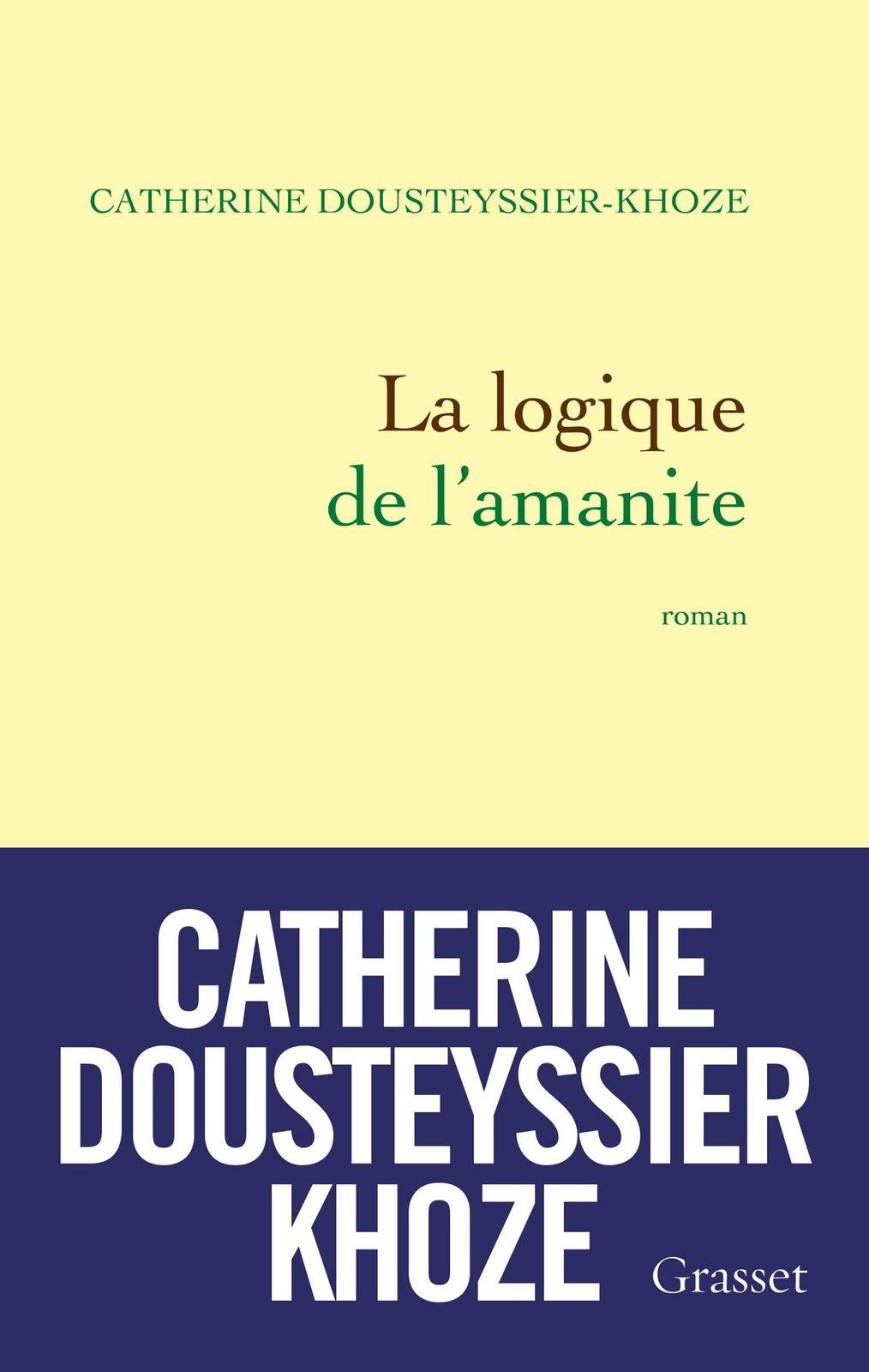 """""""La logique de l'amanite"""", mon choix pour la rentrée littéraire"""