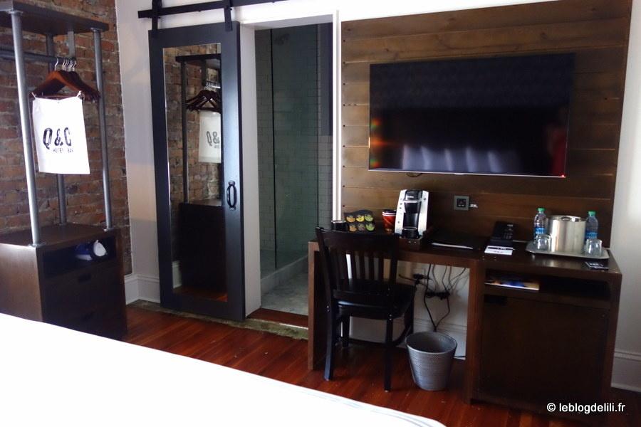 La Nouvelle-Orléans : notre bel hôtel, le Q&C, un plan anti-fantôme