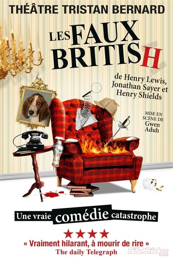 """[Au théâtre] """"Les faux british"""" : quand Sherlock Holmes se prend les pieds dans le tapis"""