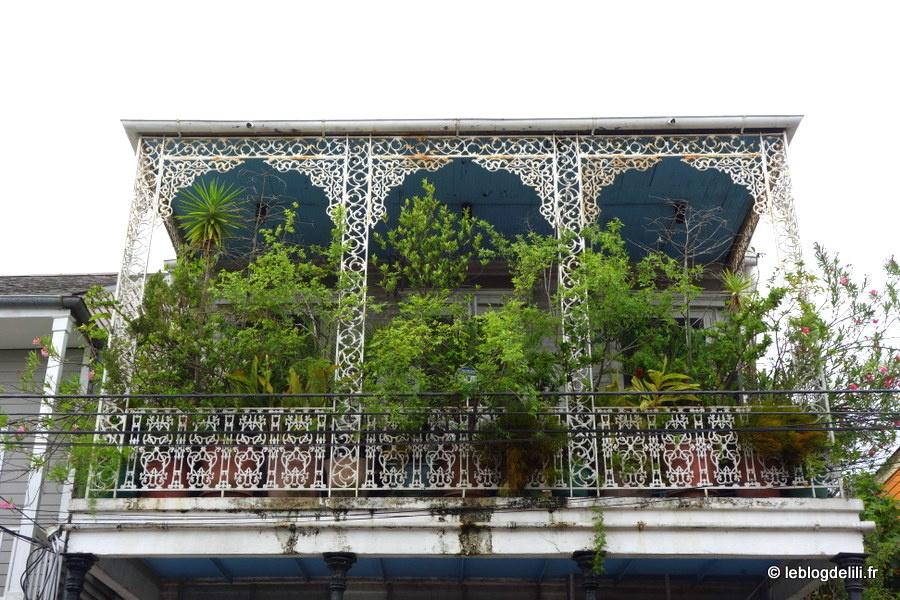Au cœur de la Nouvelle-Orléans, le French quarter
