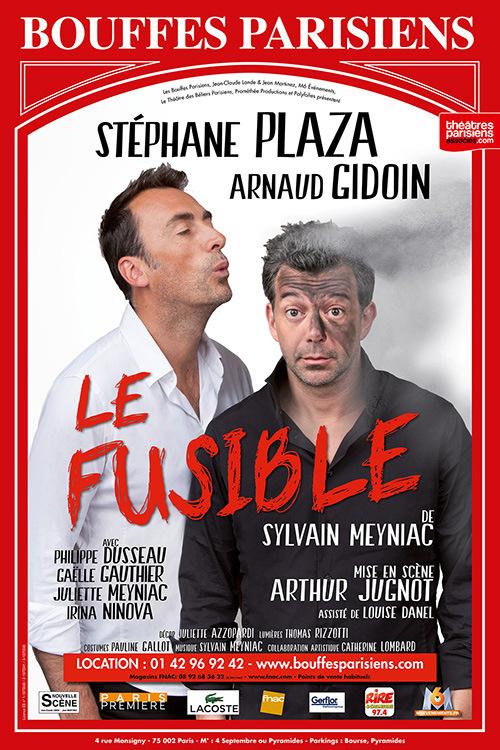 Le fusible aux Bouffes parisiens : Stéphane Plaza au théâtre