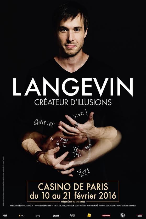 Langevin, le créateur d'illusions, au Casino de Paris