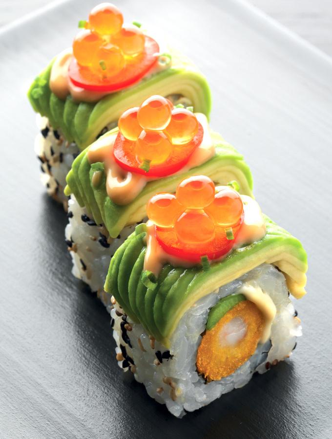 Des nouveautés Sushi Shop livrées chez moi pour le dîner