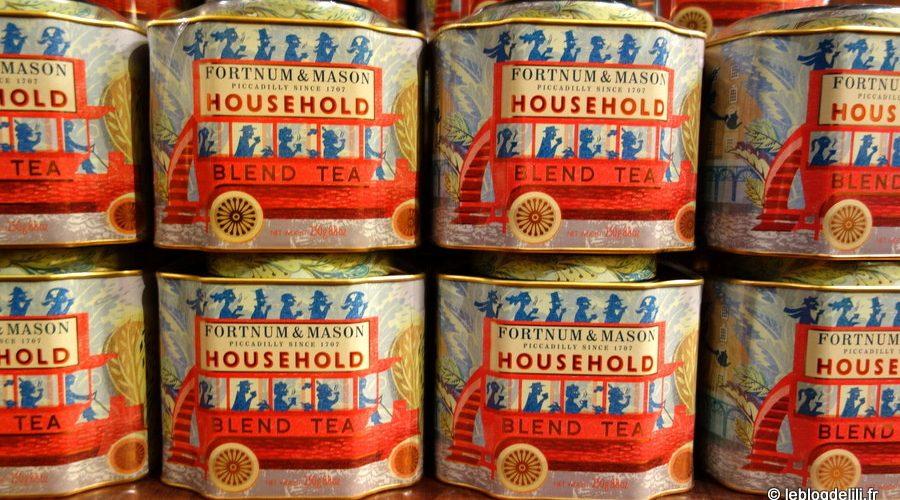 Les jolies boîtes de thé vendues à Fortnum & Mason