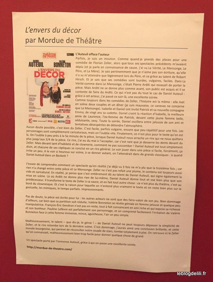 La Gladparty de Poche : la soirée des amateurs de théâtre à Montparnasse