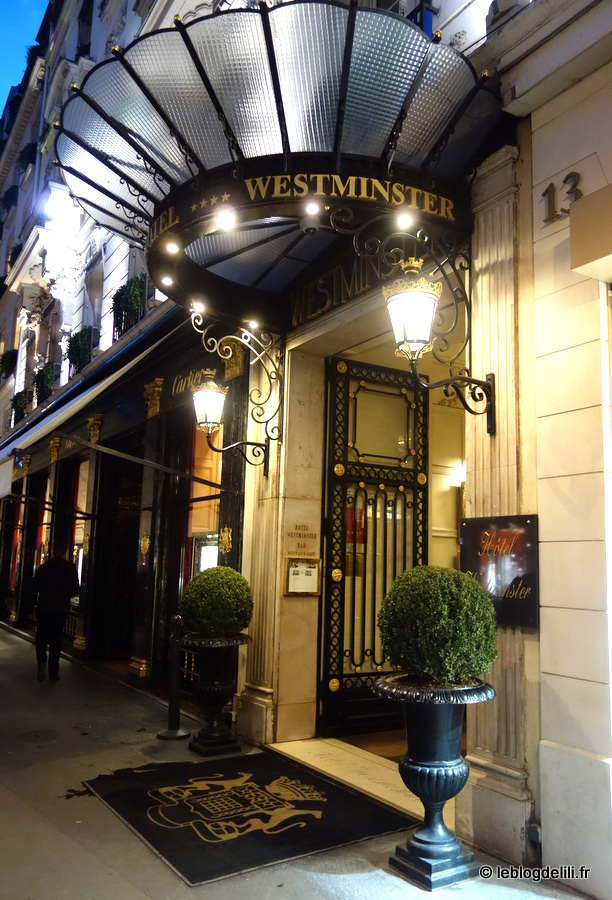 Une soirée Signature rue de la Paix, à l'Hôtel Westminster