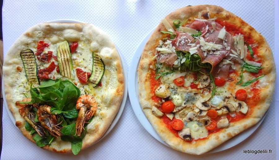 Des délices italiens près des Halles à la table de Pizza Wawa