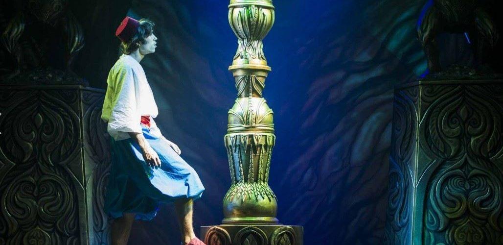 La comédie musicale Aladin au Comédia