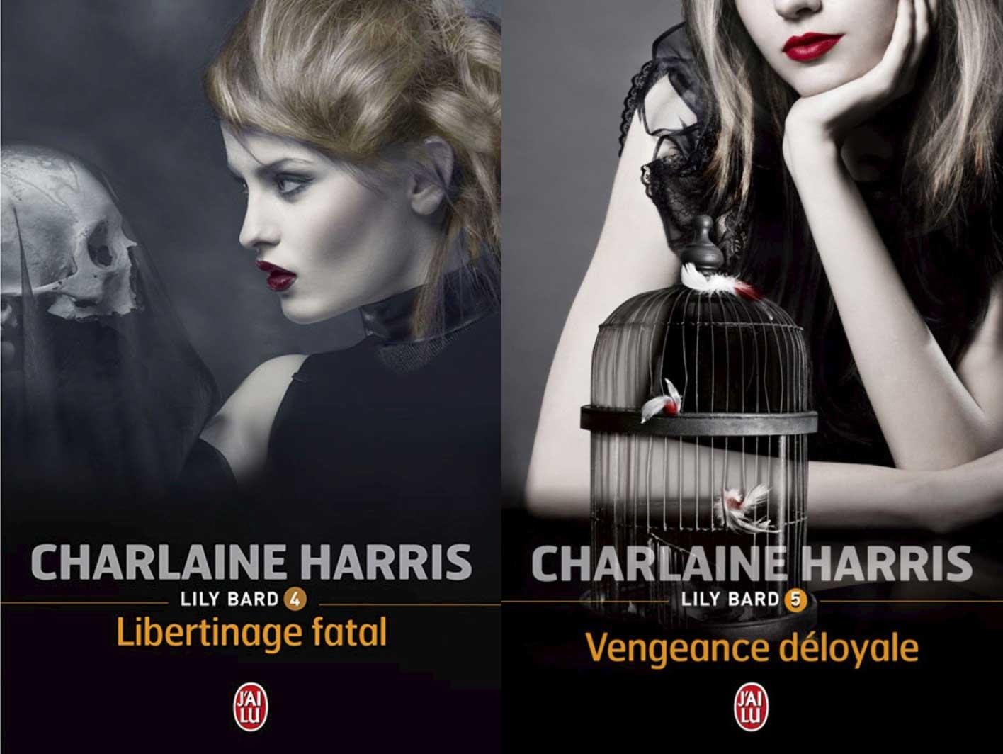 """Lily Bard tomes 4 et 5 : """"Libertinage fatal"""" et """"Vengeance déloyale"""", de Charlaine Harris"""