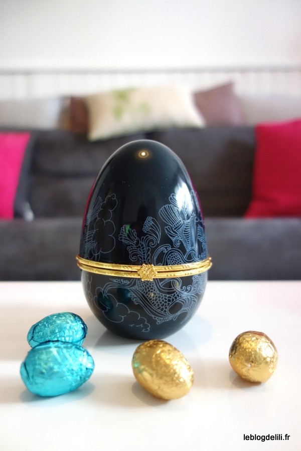 Pâques 2016 : l'œuf gourmand Comtesse du Barry