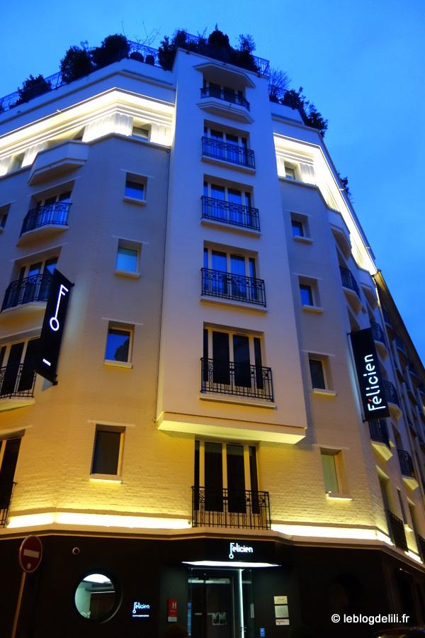 Une nuit à l'hôtel Félicien (Paris 16e) dans un univers signé Olivier Lapidus