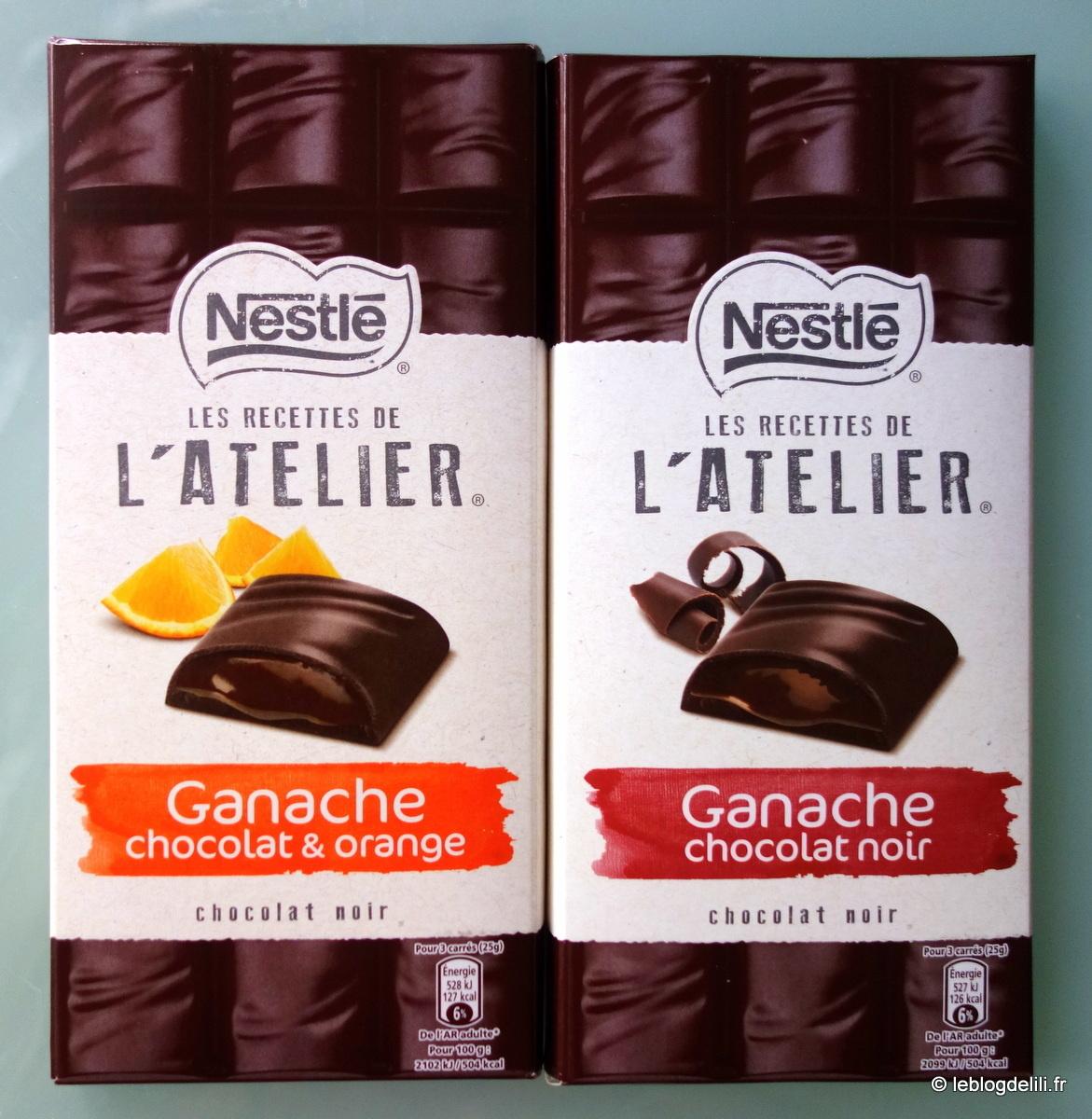 ♪♫ Nestlé, c'est fort en chocolat ♪♫ Les recettes de l'atelier