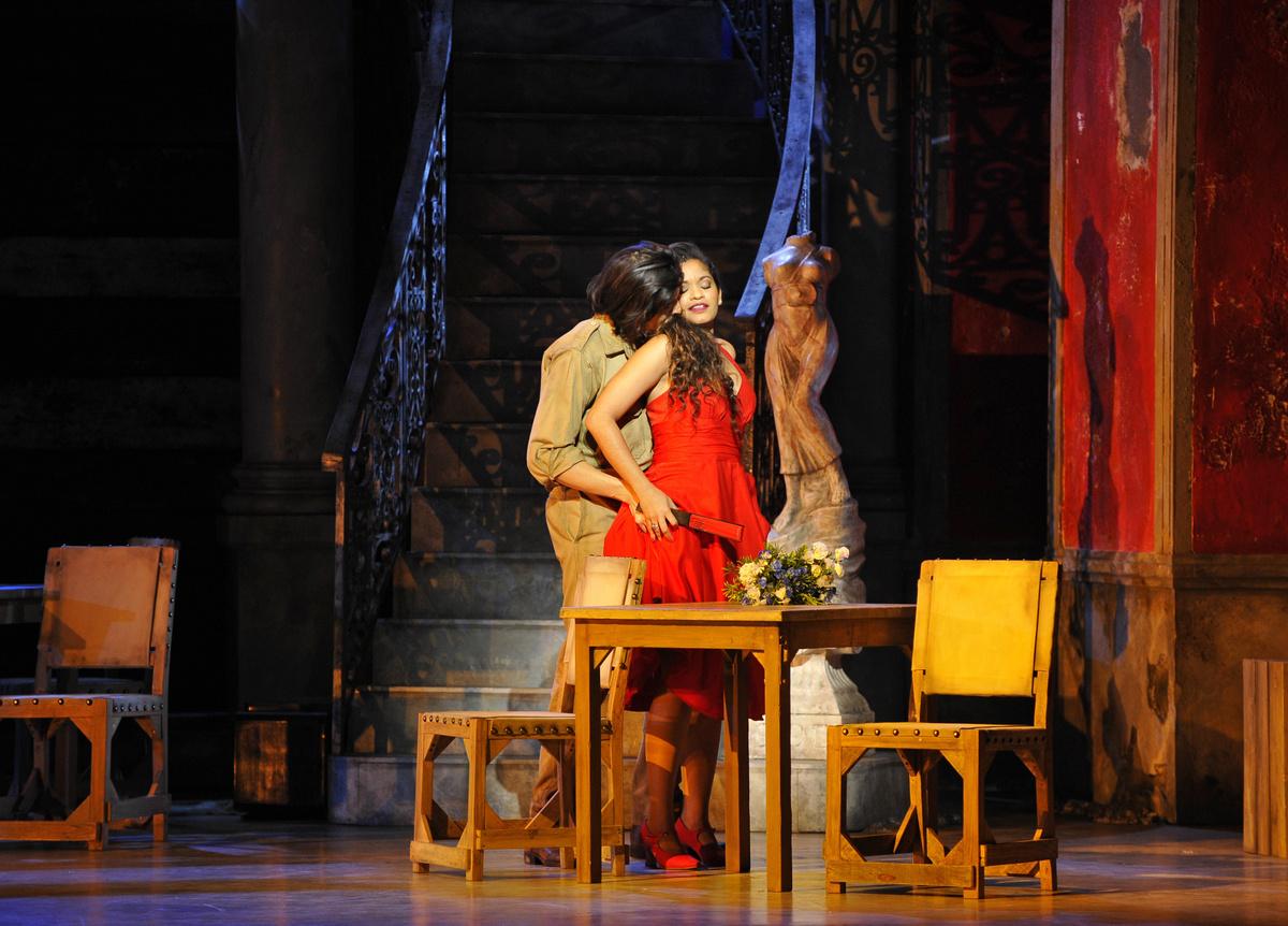 Photos : théâtre du Châtelet / Marie-Noëlle Robert