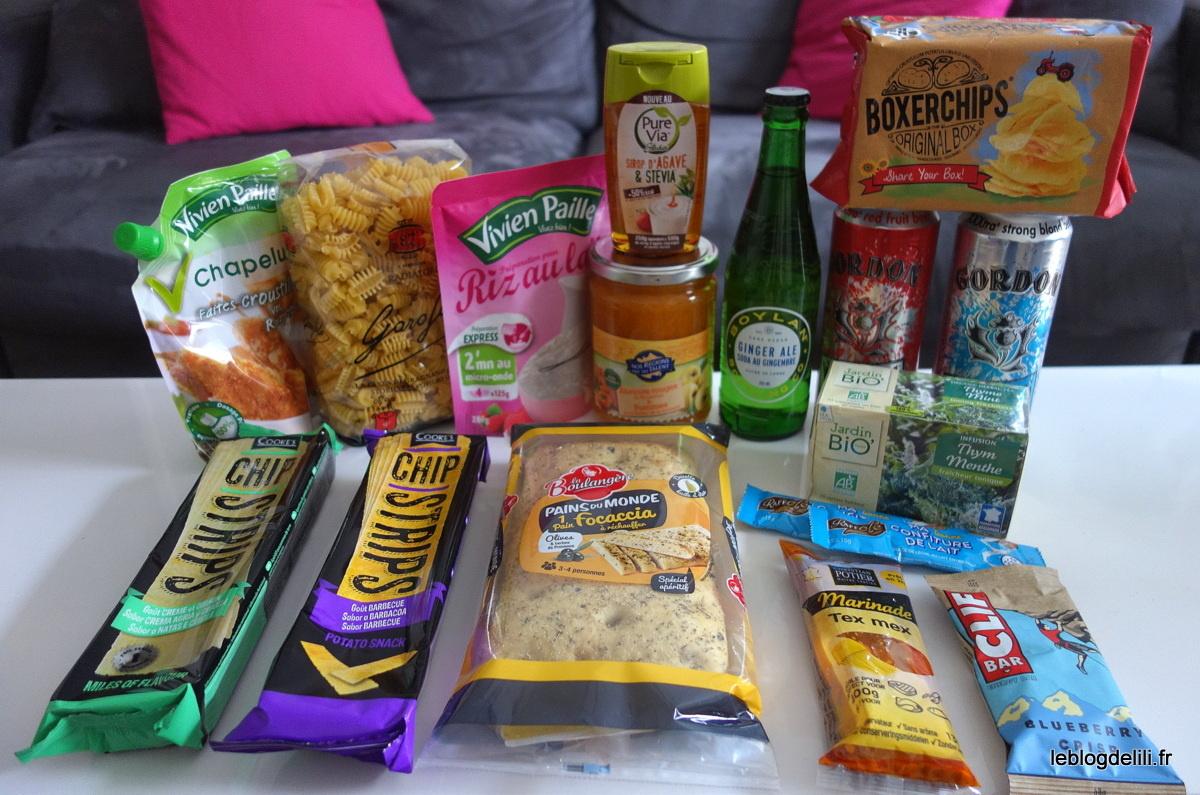 Degustabox : le coffret culinaire surprise de mars 2016 (et une délicieuse recette de crumble salé)