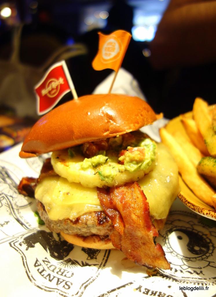 Le World Burger Tour 2, jusqu'à fin juin au Hard Rock Cafe