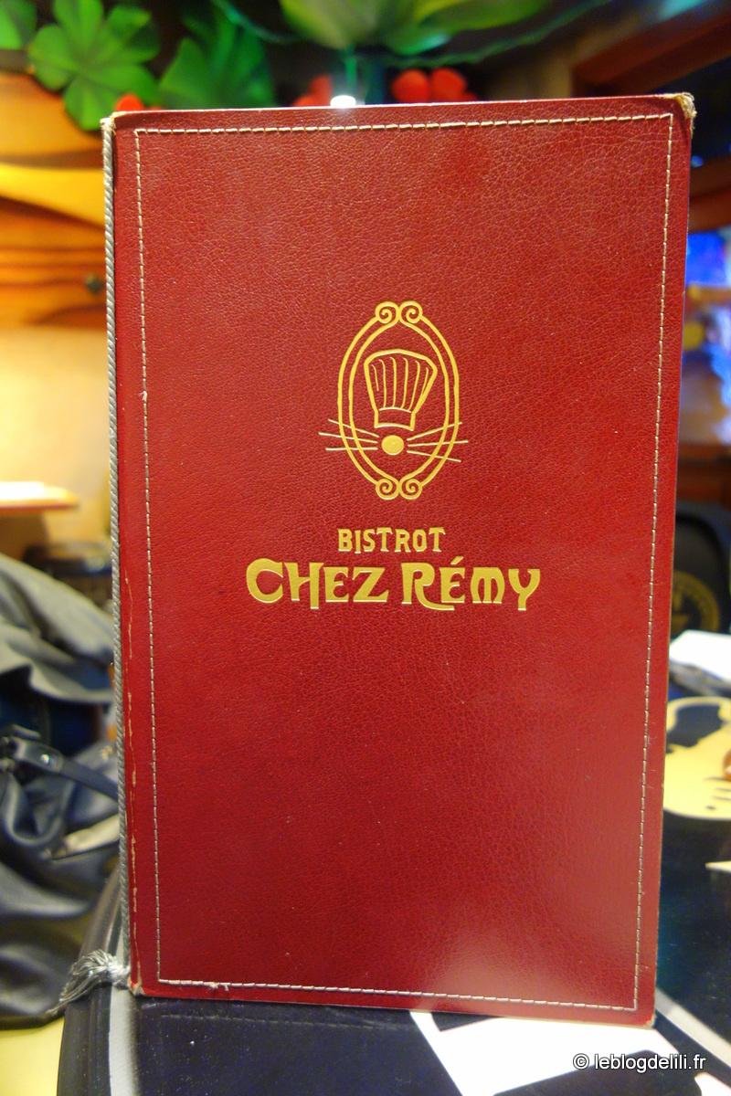 Un déjeuner au Bistrot Chez Rémy, au Parc Walt Disney Studios®