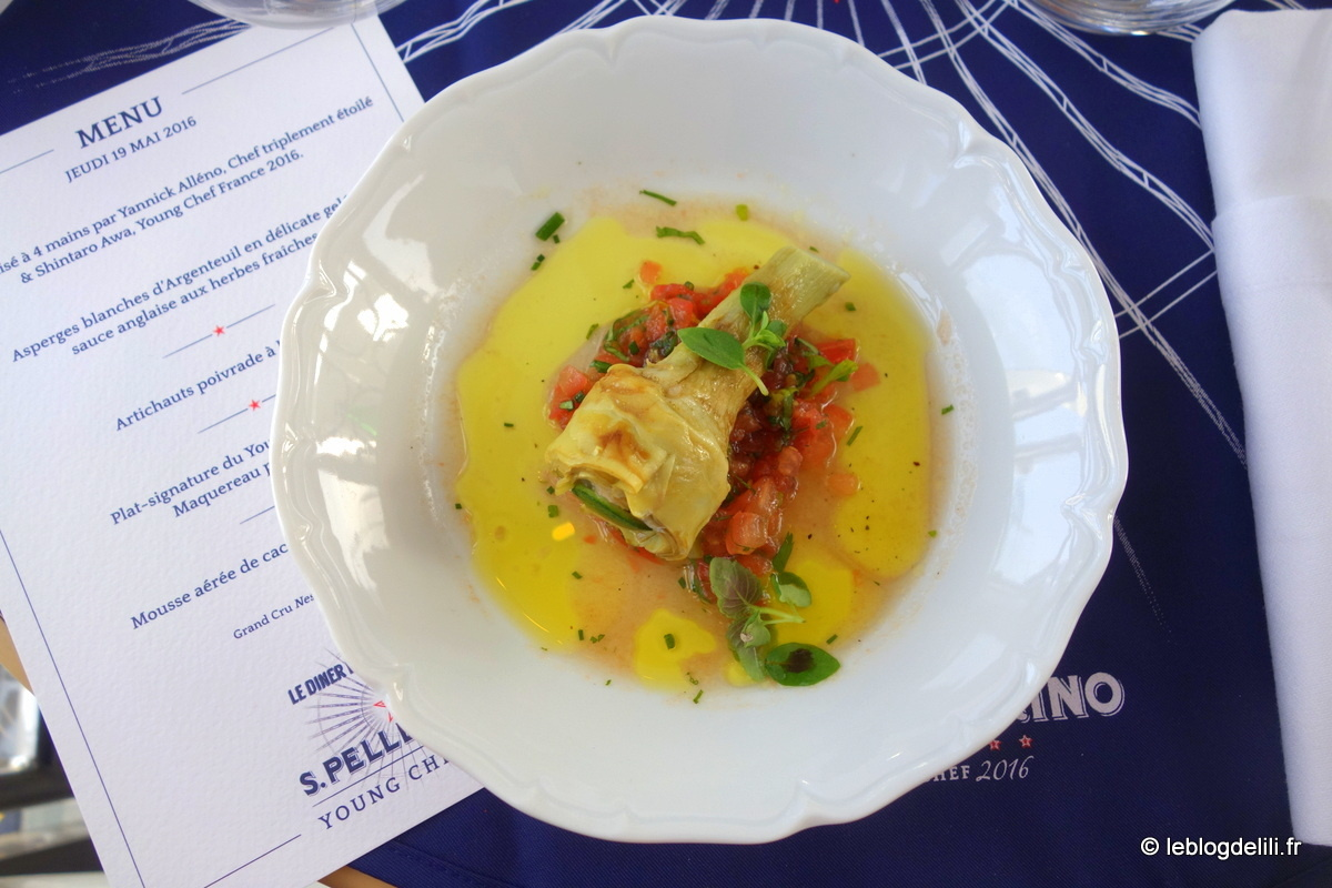 Un dîner dans les étoiles signé Shintaro Awa, San Pellegrino Young Chef, et Yannick Alléno