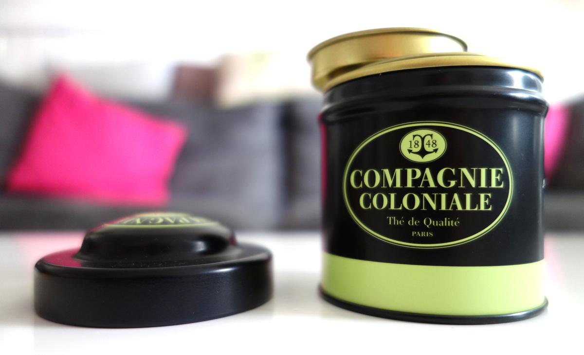 Compagnie coloniale : thé vert fruits rouges