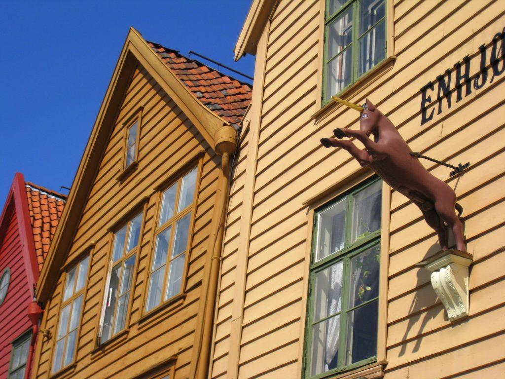 Les célèbres façades de Bergen, en Norvège