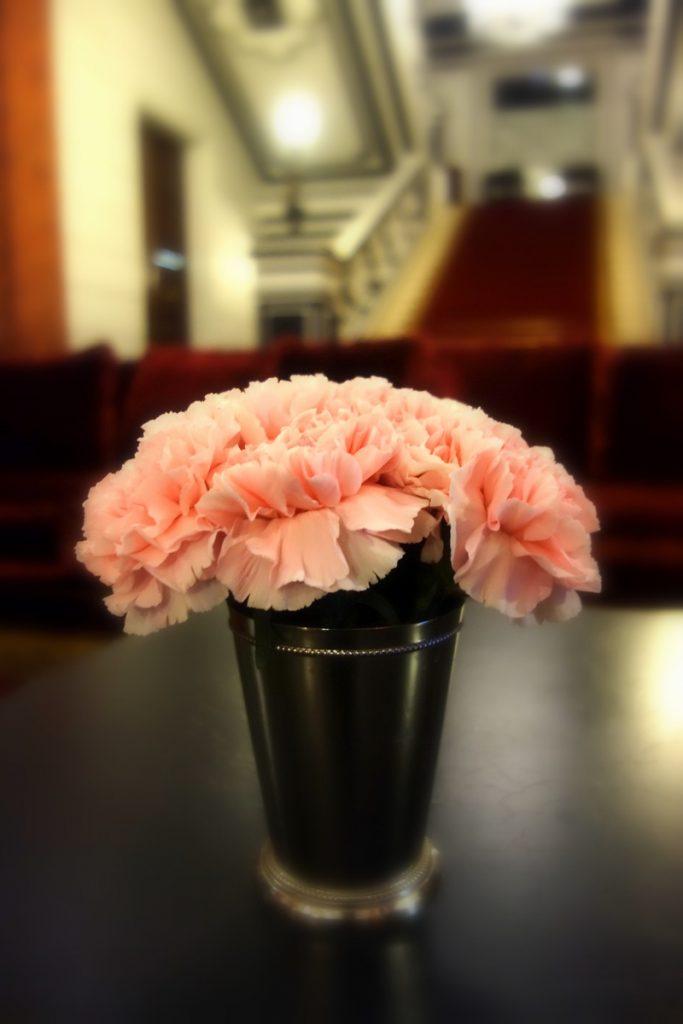Quelques fleurs au Saint James Paris