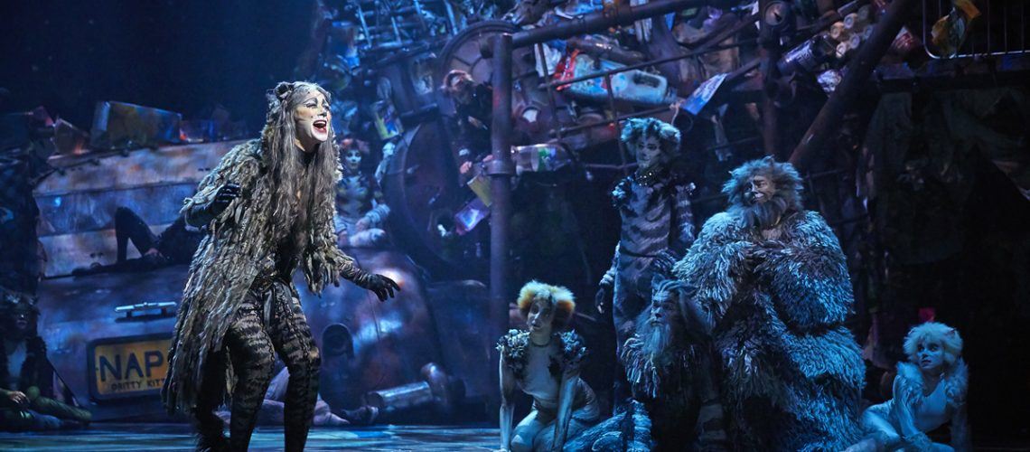 Le spectacle Cats à Paris - Photo : Théâtre Mogador et Stage Entertainment