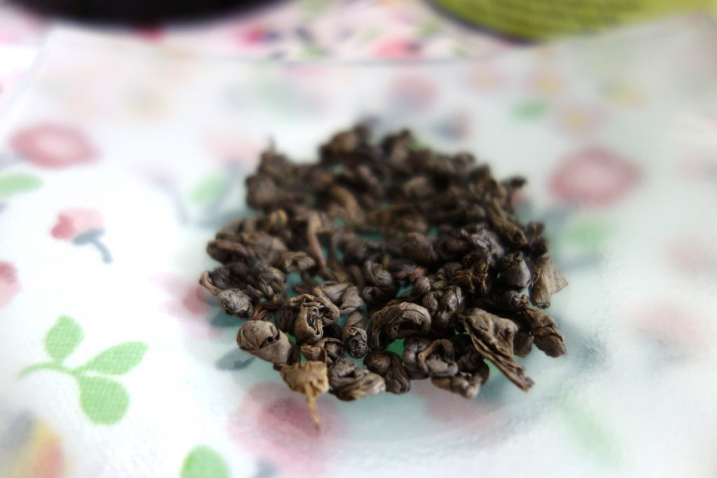Compagnie coloniale : thé vert Gunpowder