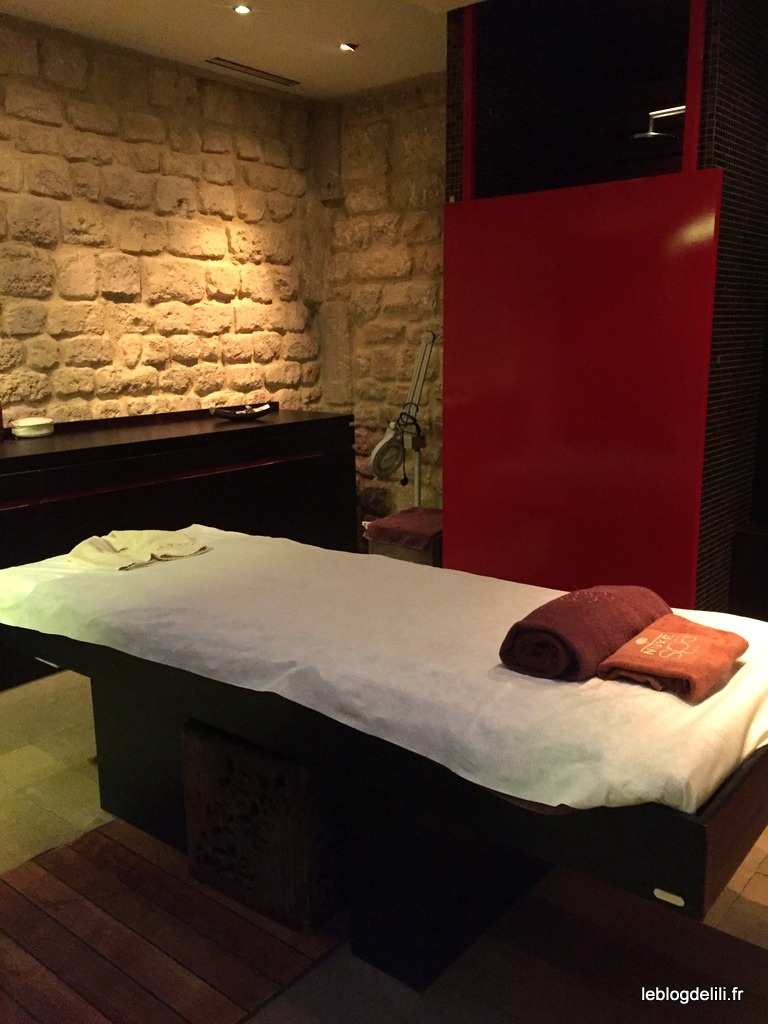 Détente absolue avec un massage californien au spa Nuxe Montorgueil