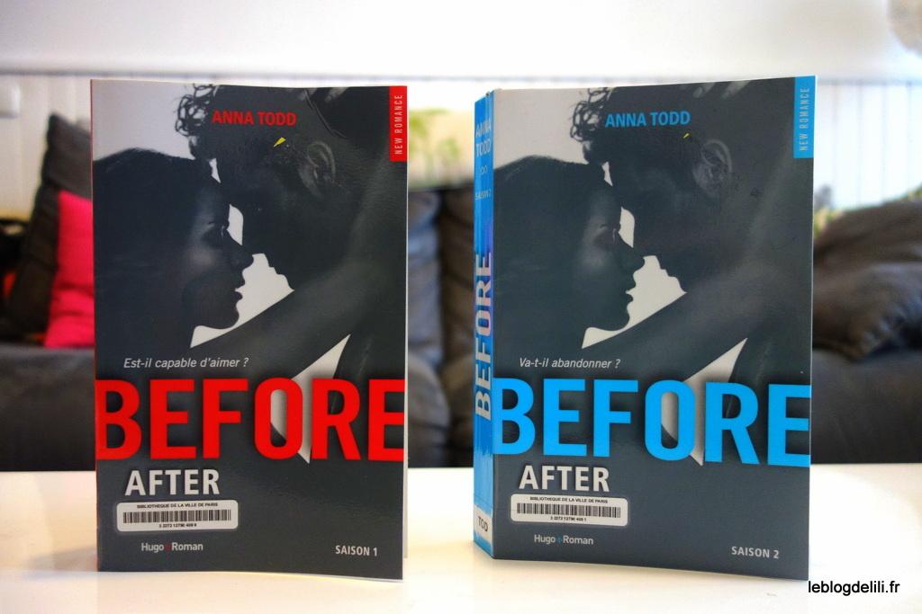 """""""Before"""", d'Anna Todd, saisons 1 et 2 : """"After"""", vu par Hardin"""