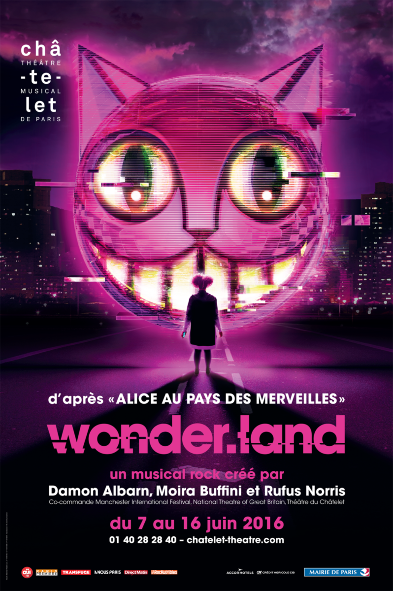 Wonder.land : une comédie musicale 2.0 au théâtre du Châtelet