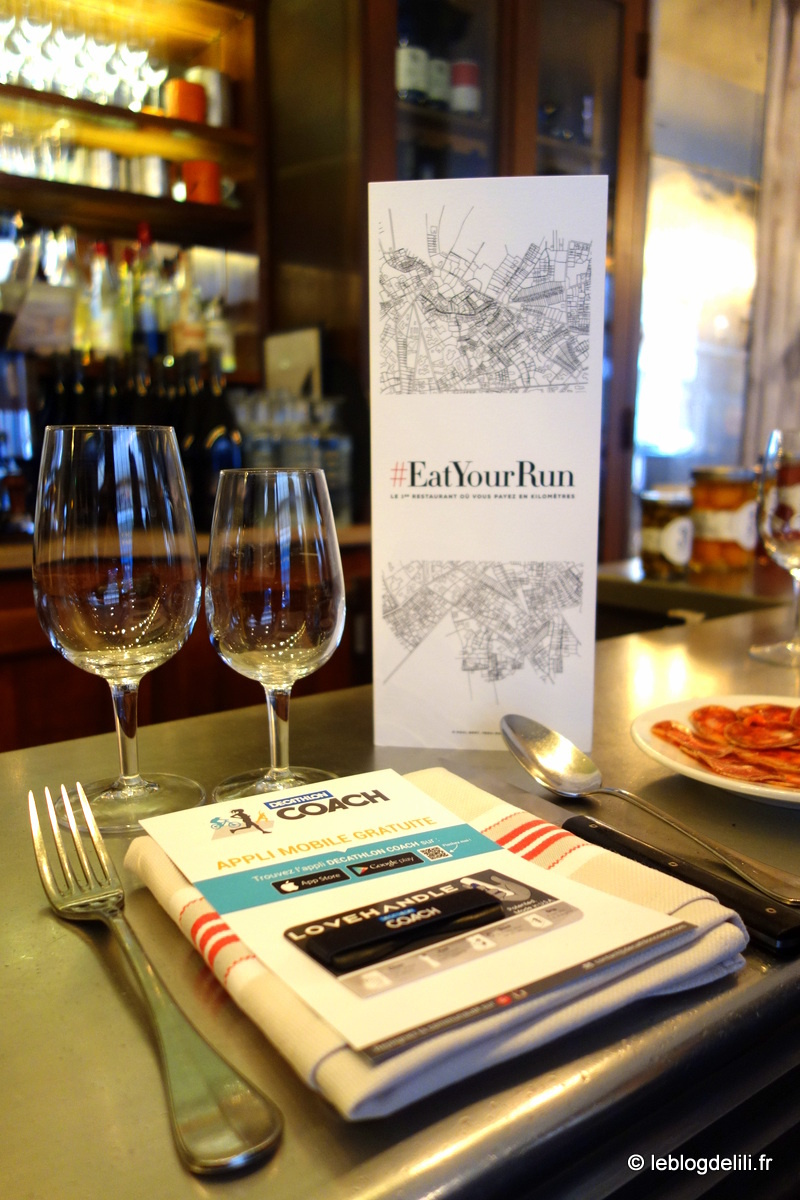 #EatYourRun : le dîner Kalenji/Eliorun au 6 Paul Bert