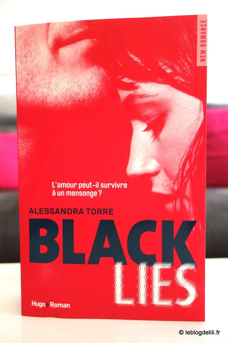 "[New romance] ""Black Lies"", d'Alessandra Torre"