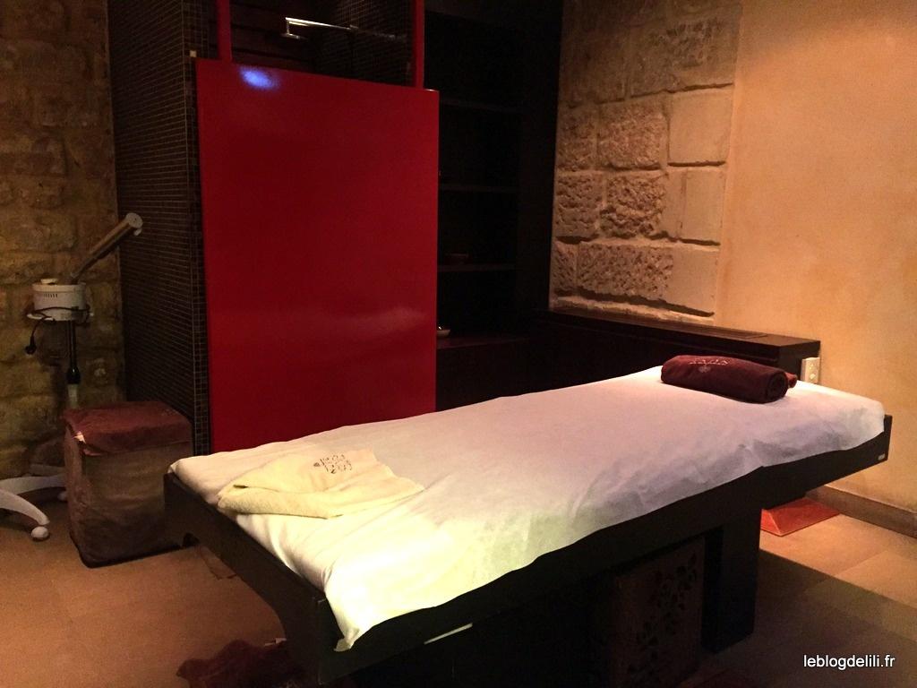 Détente absolue avec un massage californien au spa Nuxe Montorgueil