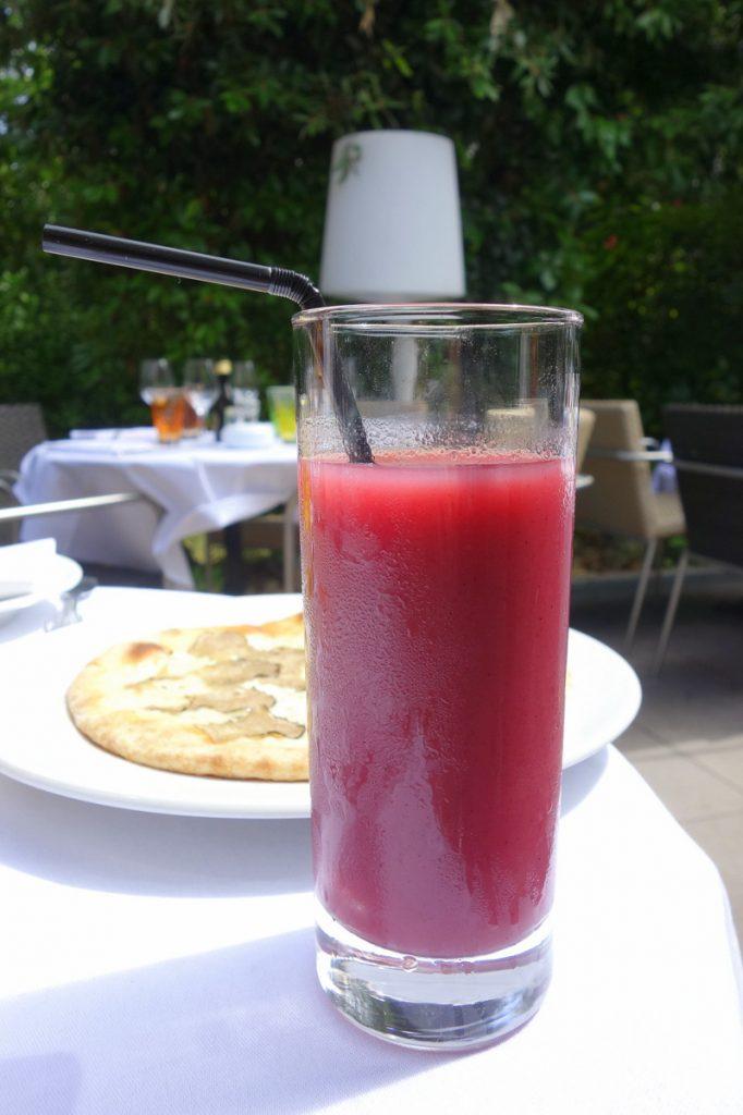 Mon cocktail detox en apéritif au café La Jatte