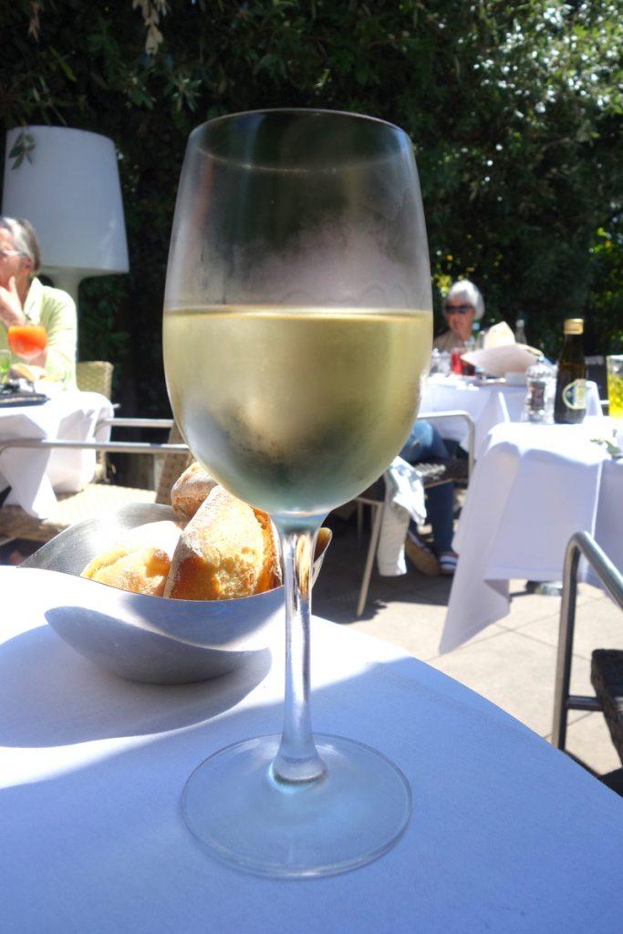 Un verre de vin des Pouilles