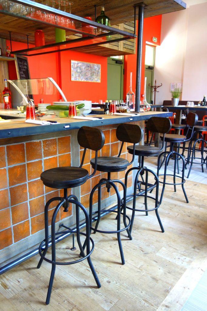 La pizzeria du café La Jatte