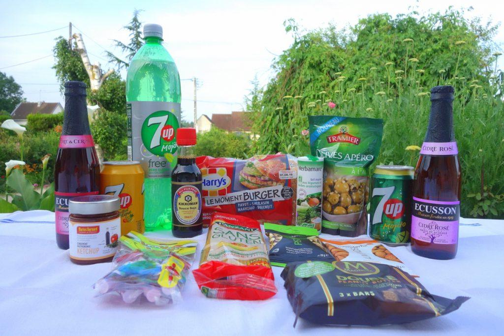 Le contenu global de la Degustabox française de juin 2016