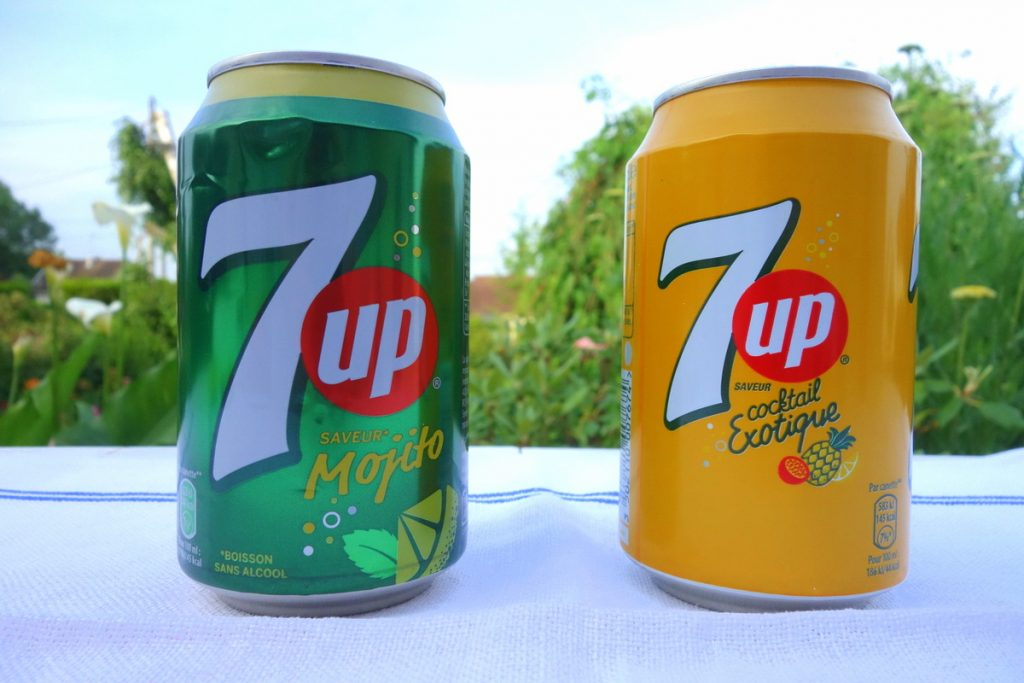 Degustabox juin 2016 : 7up canettes