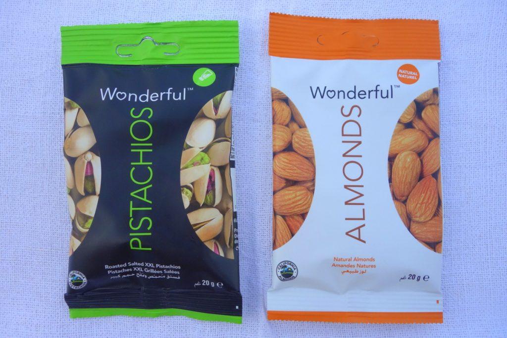 Degustabox juin 2016 : amandes et pistaches