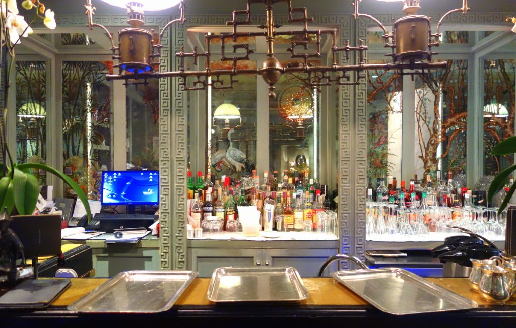 Le bar de l'hôtel Daniel