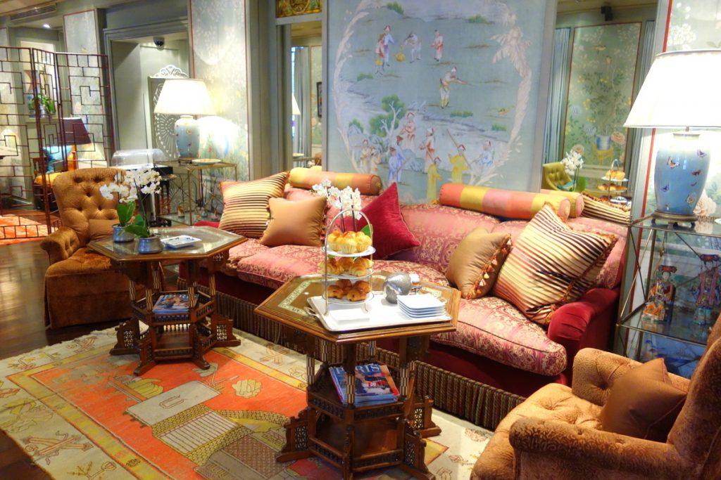 Le lobby - salle de restaurant de l'hôtel Daniel à Paris