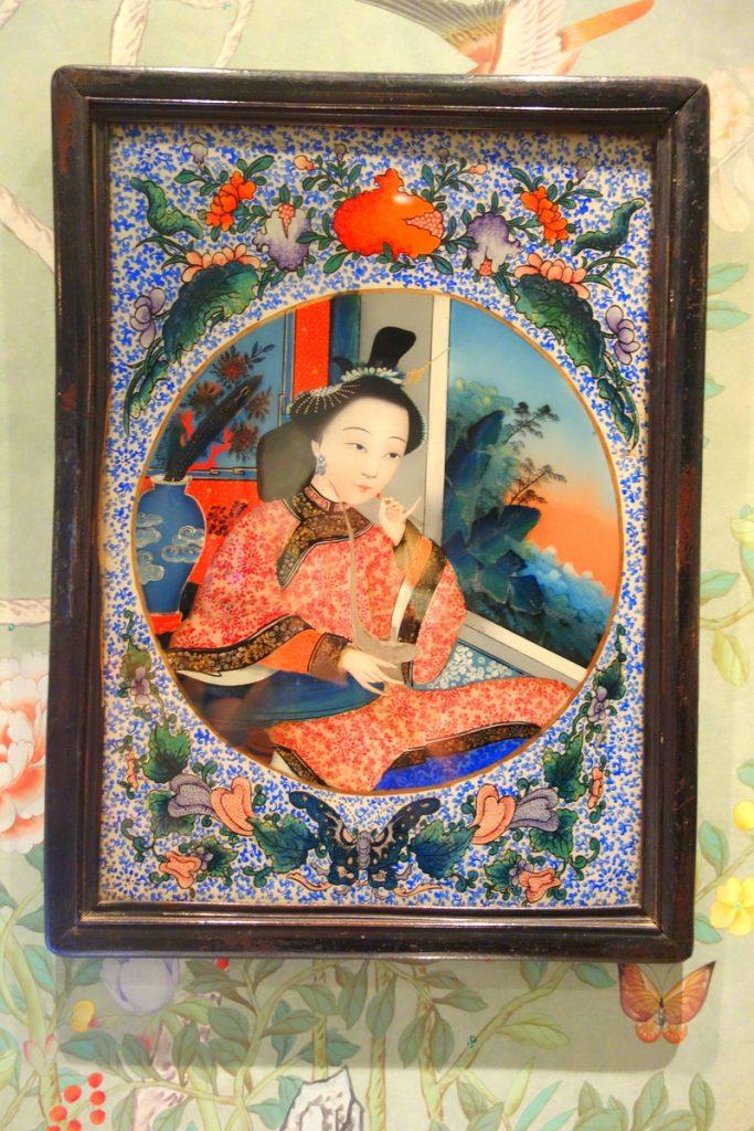 Un peu d'Asie sur les tableaux de l'hôtel Daniel