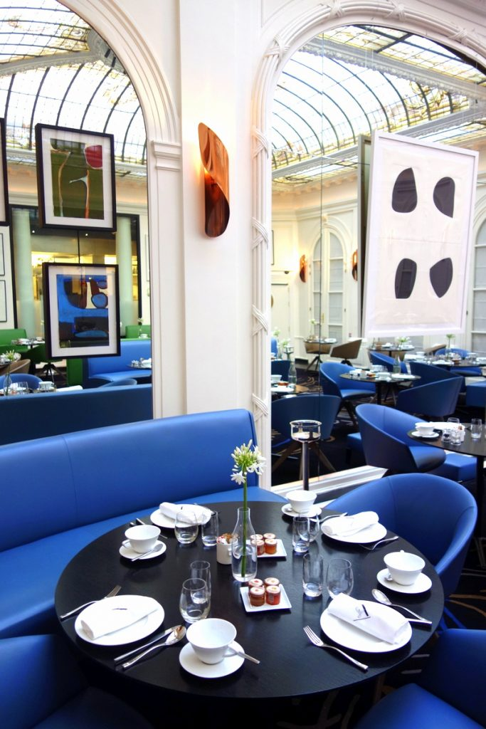 Le restaurant de l'hôtel Vernet, un 5 étoiles parisien