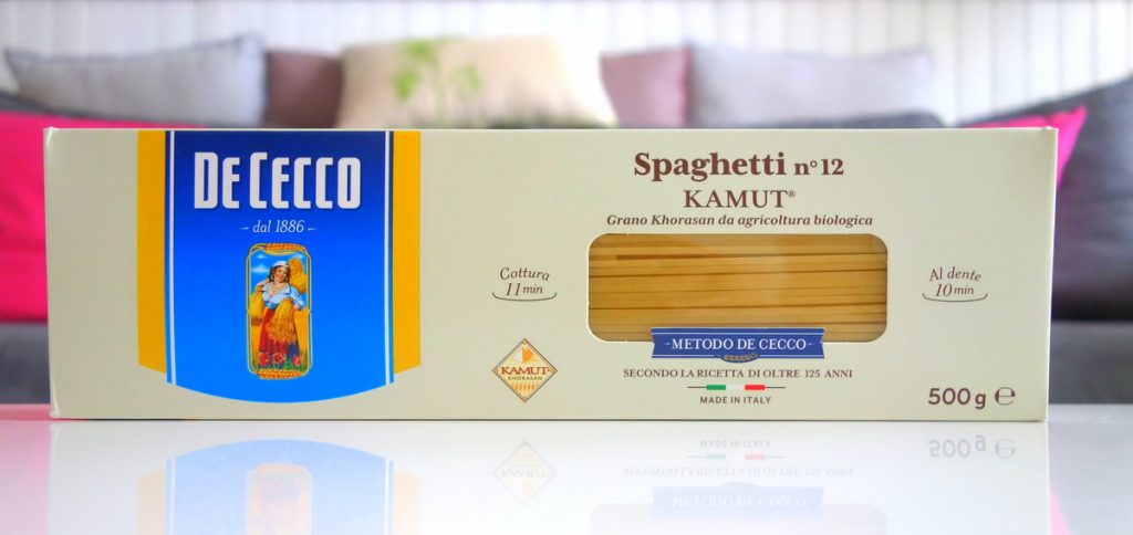 Monoprix mangeons mieux spaghettis kamut