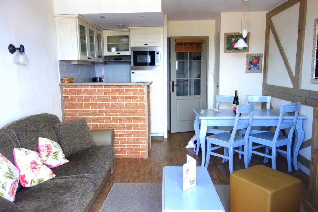 Notre appartement à la résidence premium Pierre & vacances à Houlgate : derrière la porte 1113 de La Girouette