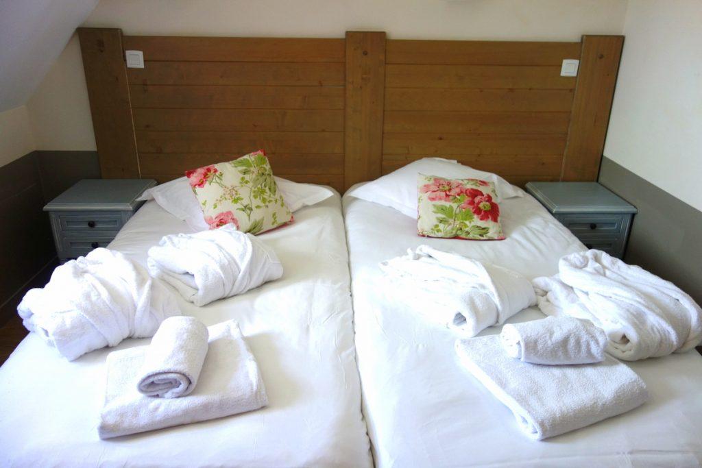 Notre chambre à la résidence premium Pierre & vacances à Houlgate