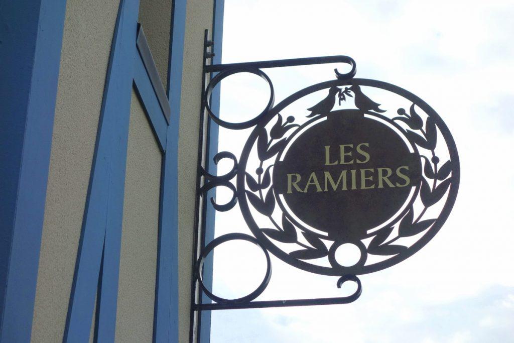 L'enseigne des Ramiers, à la résidence premium Pierre & vacances à Houlgate