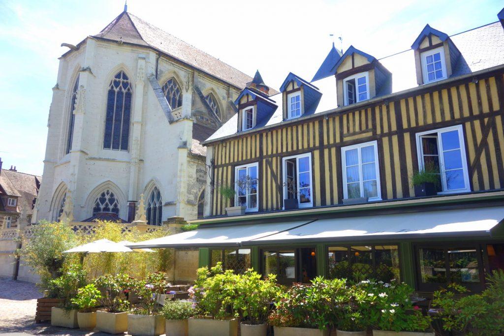 L'auberge de la Touques, Pont-L'Évêque en Normandie