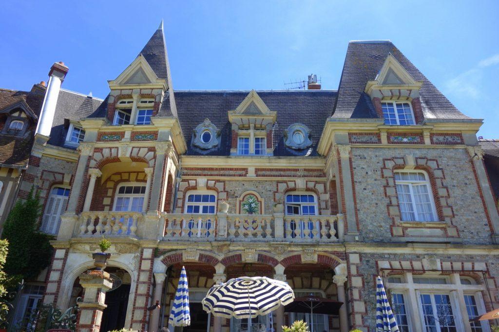 L'une des belles demeures de Cabourg